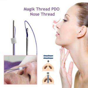 عوارض لیفت بینی با نخ